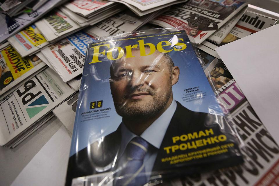 Федотов издает российский Forbes больше двух лет