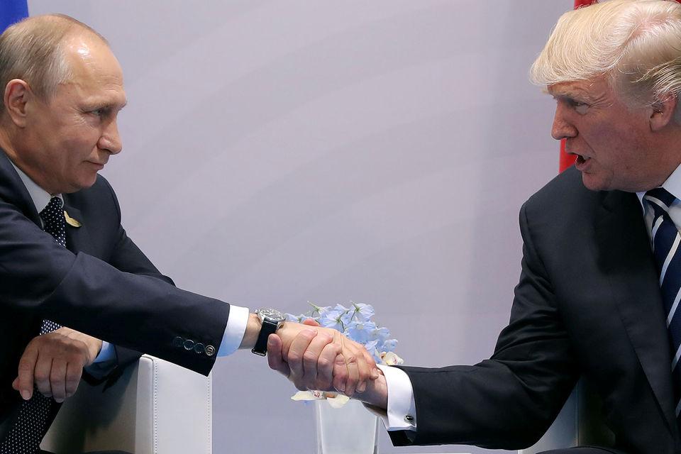 Владимир Путин и Дональд Трамп увидели предпосылки для выхода из кризиса