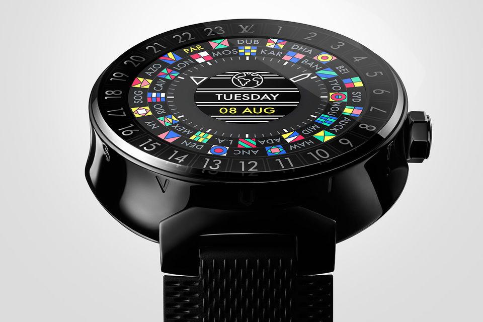 Часы Tambour Horizon – первые «умные часы», созданные Louis Vuitton