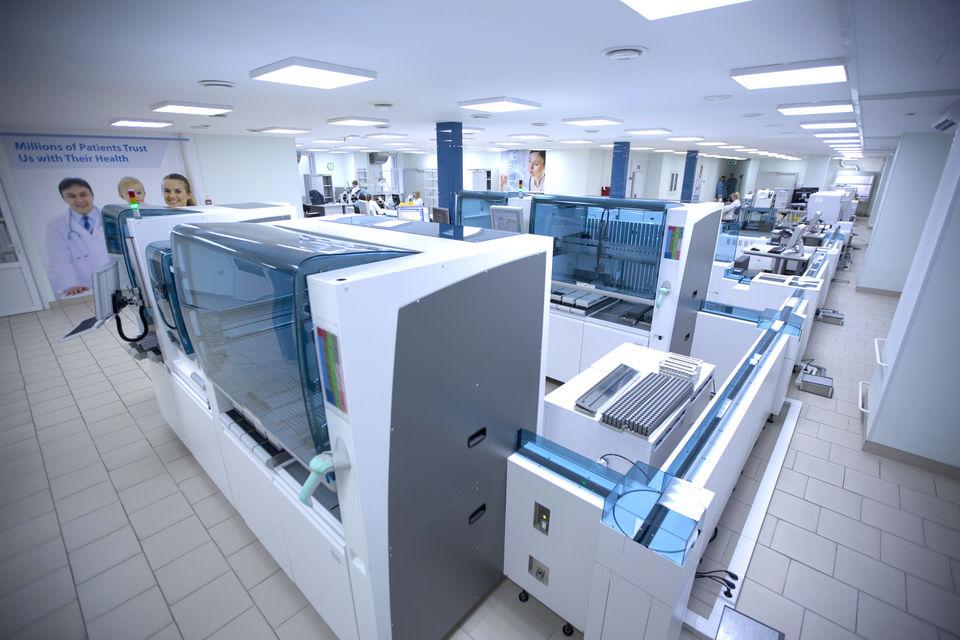 Лабораторный комплекс «Хеликс» в Москве