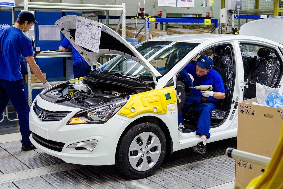 За полгода выпуск на заводе Hyundai вырос на 17%