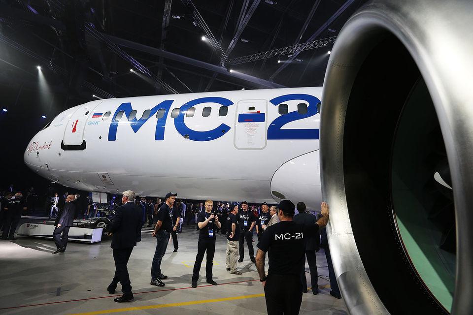 МС-21 – разрабатываемый ОАК самолет самого востребованного среднемагистрального класса