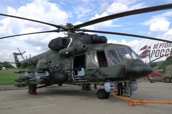 Новый российский военно-транспортный вертолет, продолжение легендарного МИ-8