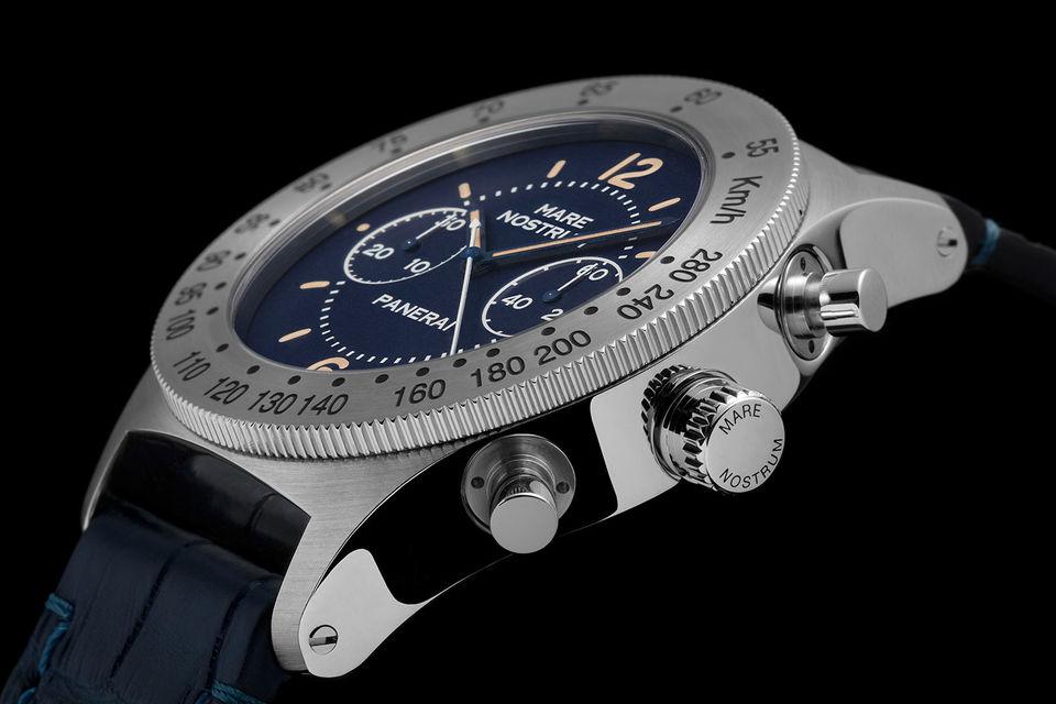 Часы Mare Nostrum Acciaio - перевыпуск первого хронографа Officine Panerai