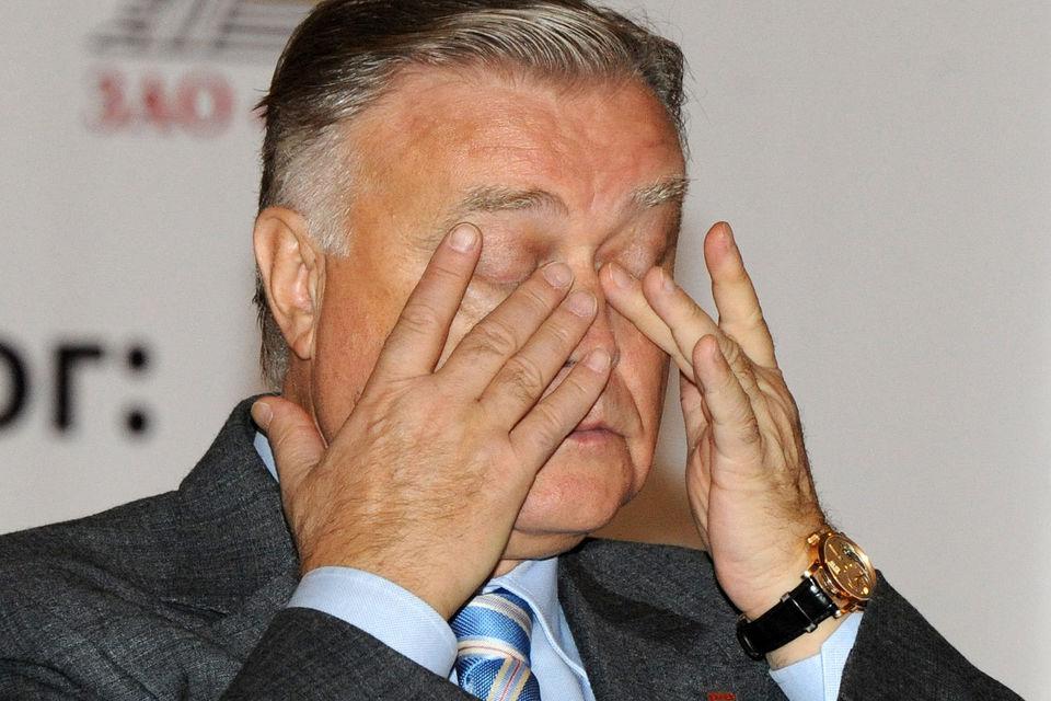 Бывший президент РЖД Владимир Якунин