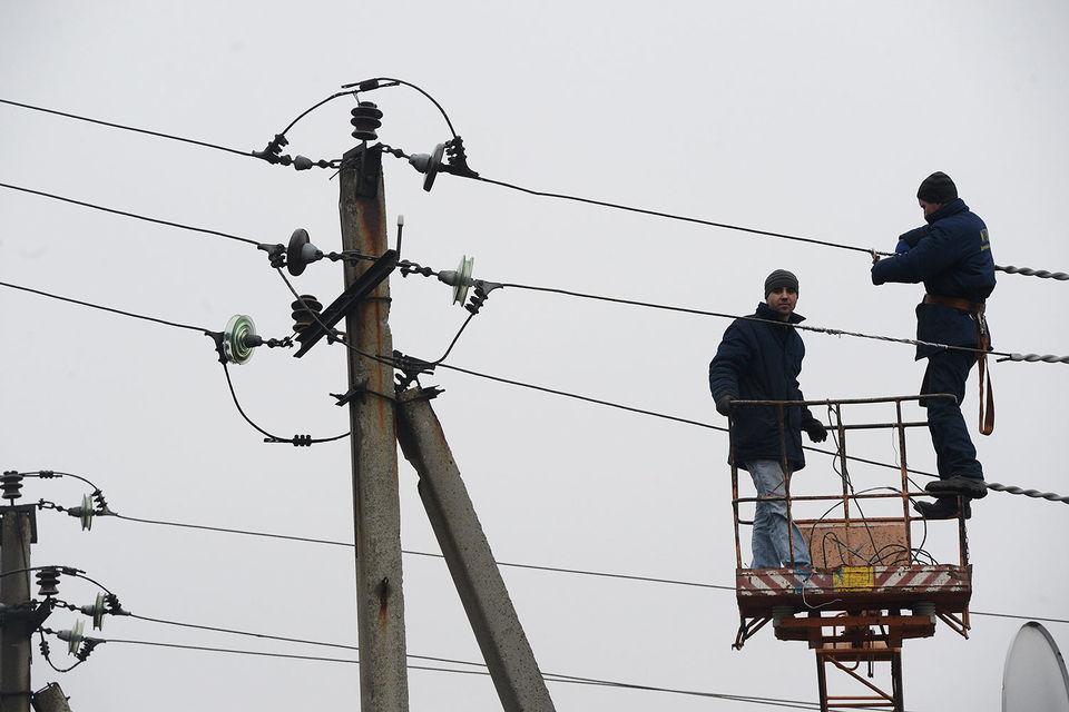 Украина отключила Донецкую область от электричества