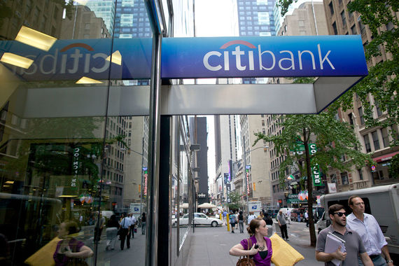 Citigroup вернет акционерам $60 млрд, или треть капитализации