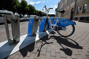 Станций и велосипедов становится меньше