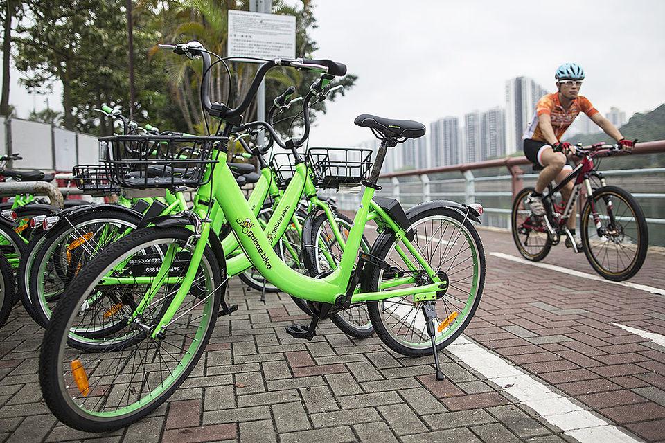 Gobee.bike собирает в облачное хранилище информацию о расположении велосипедов и о том, как часто, как долго и где гонконгцы используют велосипеды
