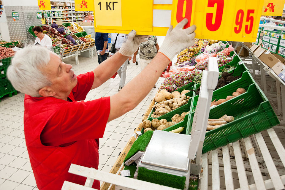 Заметнее всего в июле снижались цены на фрукты и овощи