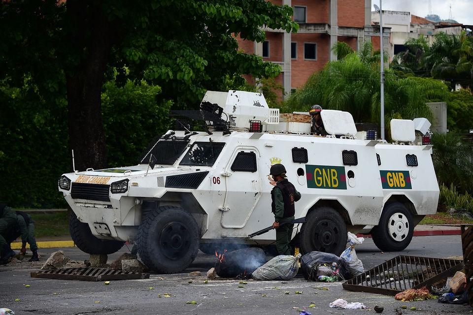 Власти Венесуэлы объявили о подавлении попытки военного мятежа в г. Валенсии на севере страны