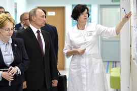 Владимир Путин лично оценил эффективность нового проекта в кировской поликлинике