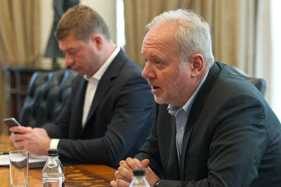 К середине – концу августа 2017 г. стороны ждут одобрения сделки со стороны ФАС и ЦБ, говорил в начале июля владелец группы «Ренессанс страхование» Борис Йордан (на фото справа)
