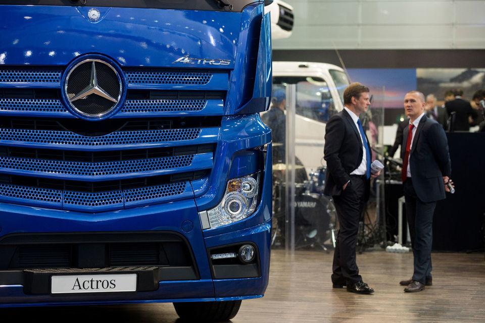 В июне лидером рынка грузовиков без учета LCV впервые стал грузовик Mercedes-Benz Actros