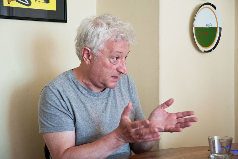 Виктор Мизиано, главный редактор «Художественного журнала»