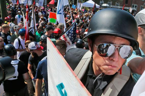 Субботние выступления в Шарлотсвилле стали самой серьезной акцией ультраправых США за несколько лет