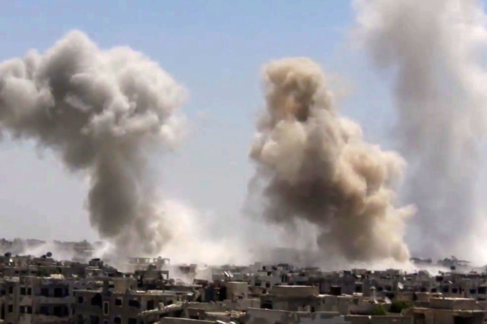 Подконтрольные Дамаску территории увеличились в 2,5 раза
