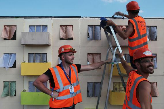 Команды со всей Росии целый месяц трудились, создавая свои креативные летательные аппараты