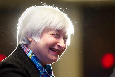 Председатель ФРС США Джанет Йеллен