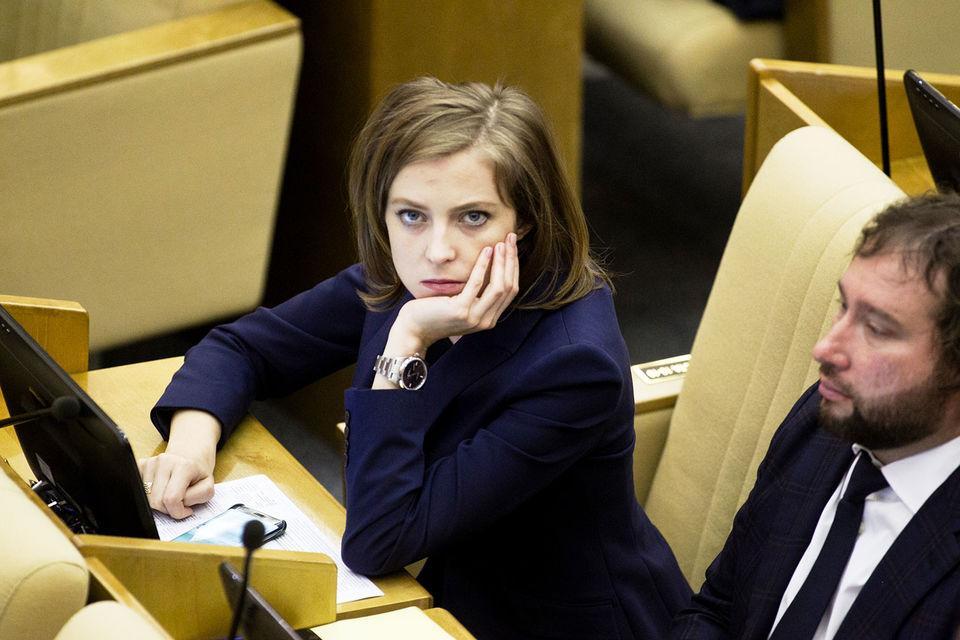 Наталья Поклонская заняла непримиримую позицию и не слушает советов коллег по фракции