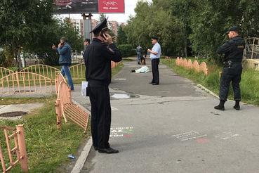 Нападавший был ликвидирован сотрудниками ППС, прибывшими на место происшествия
