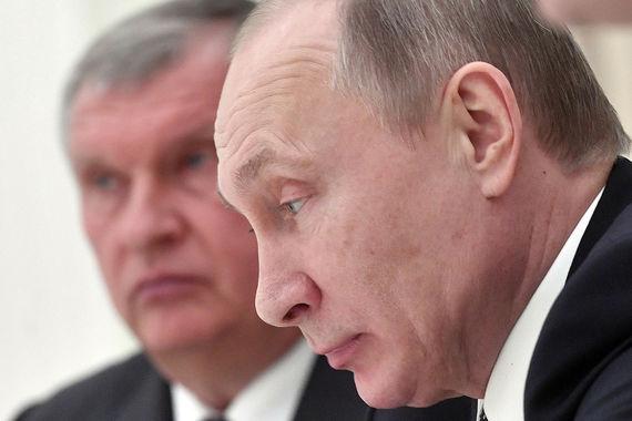 Эксперты фонда «Петербургская политика» составили рейтинг преемников президента Путина. На десятом месте Игорь Сечин, президент «Роснефти»