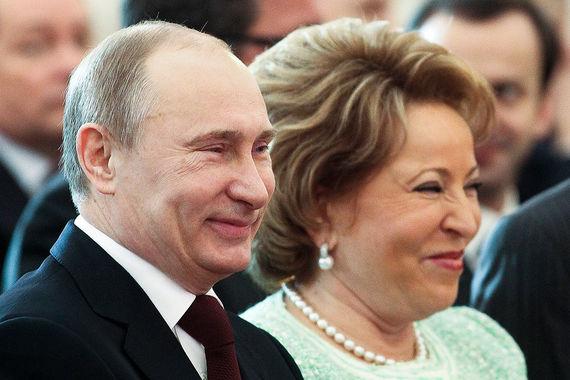 Пятое место – Валентина Матвиенко, председатель Совета Федерации