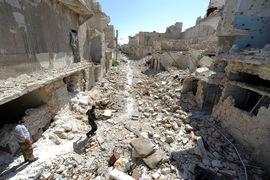 В Сирии полностью освобождена провинция Алеппо (на фото), очищено 50 населенных пунктов и более 2700 кв. км территории