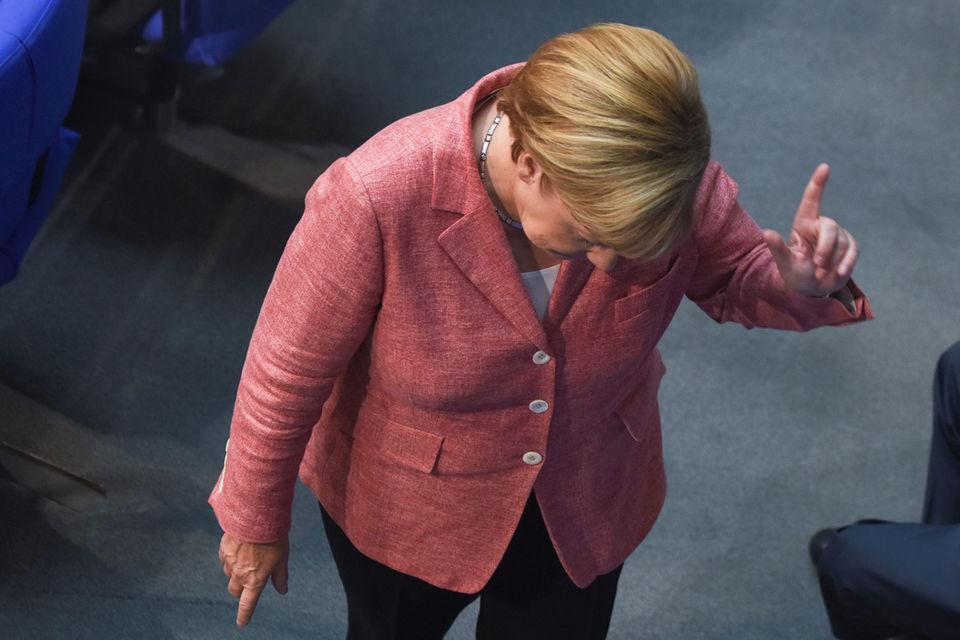 Рост в помощь Меркель