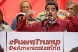 Николас Мадуро утверждает, что проблемы Венесуэлы объясняются попытками США поставить на колени боливарианскую республику и остановить социалистическую революцию