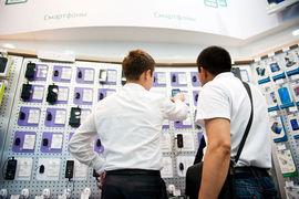 В России бум покупки сотовых телефонов в кредит