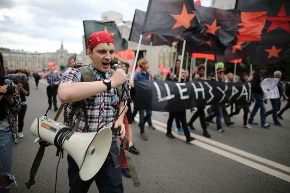 26 августа на проспекте Сахарова прошел митинг «За свободный интернет»