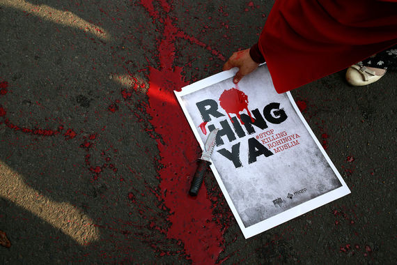 Геноцид мусульман в Мьянме 2017