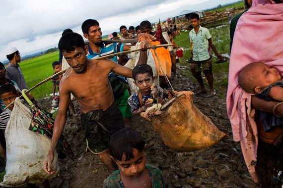 Мьянма - Бирма, геноцид мусульман в 2017 году