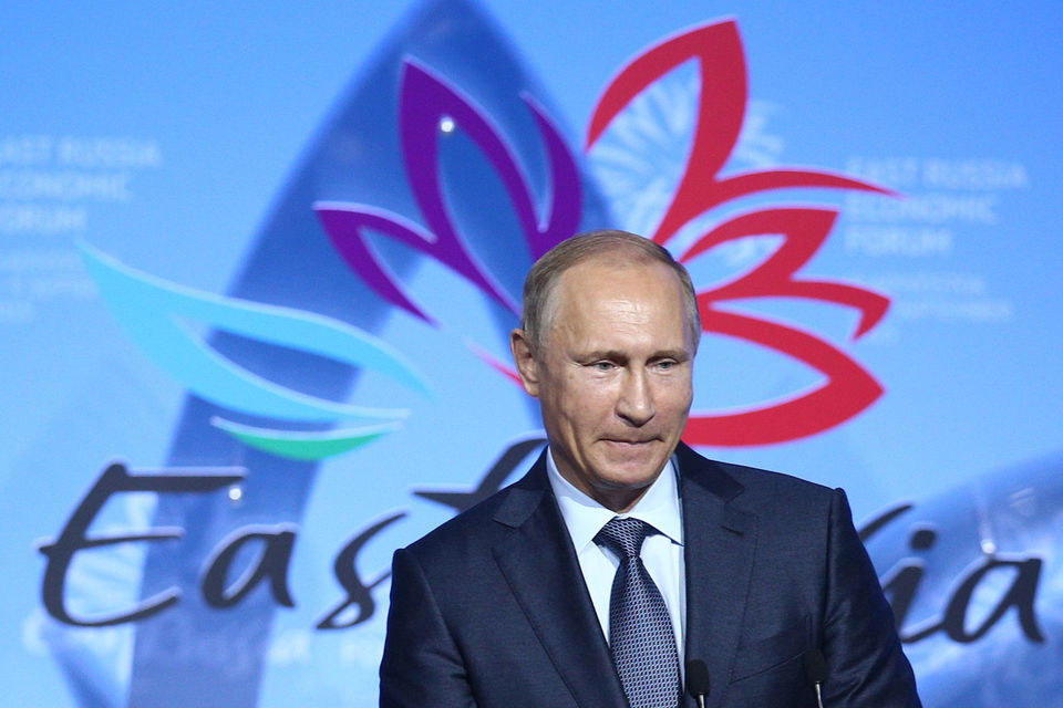Владимир Путин даст старт нескольким проектам на Восточном экономическом форуме