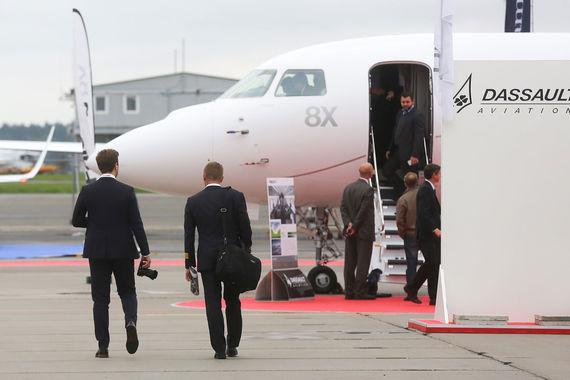Dassault Aviation показала Falcon 8X