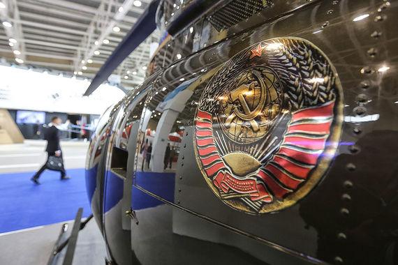Американский производитель Bell оформил вертолет в русском патриотическом стиле