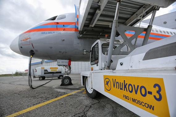 Sukhoi Superjet 100 Министерства по чрезвычайным ситуациям