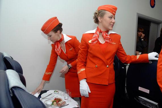 Крупнейшая авиакомпания России, СНГ и Восточной Европы «Аэрофлот» на шестом месте по отзывам. Питание на внутренних рейсах «Аэрофлота» в основном оценивается  пассажирами как нормальное, т. е. не вызывает ни восторга, ни нареканий. А  вот на международных рейсах питание очень хвалят. Пассажиры «Аэрофлота»  отмечают, что компания нередко радует в полете маленькими приятными  вкусностями: мандаринками, мороженым