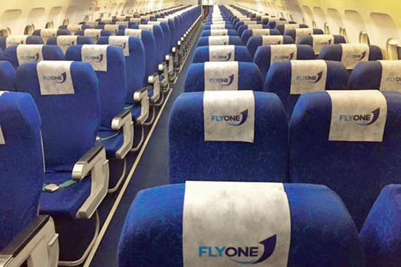 На восьмом месте — авиакомпания из Молдавии Fly One