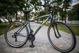 Это уже пятая модель Stark на наших тестах, можно вновь отметить отзывчивость велосипеда этой марки