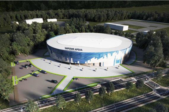 normal 337 Проект спортивно концертного комплекса в Петрозаводске подготовит основанная Романом Ротенбергом компания