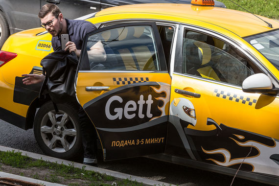 Сервис такси Gett готов доставлять iPhone покупателям за два часа