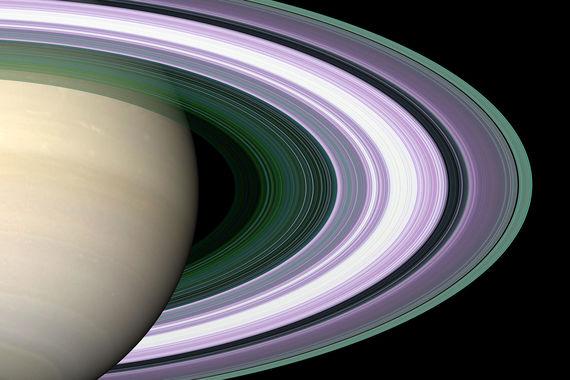 Кольца Сатурна, как выяснил «Кассини», состоят из льда и пыли, которые приводят в движение луны Сатурна. На полюсах самого Сатурна зонд наблюдал штормы и вихри, воронки которых были в 50 раз шире земных, там зонд наблюдал молнии