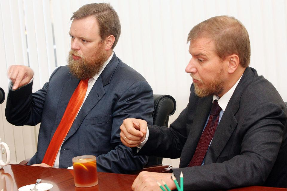 Братья Ананьевы сливают банки