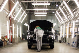Модель с ноября будет выпускаться на  калужском автозаводе «ПСМА рус» наряду с  Outlander