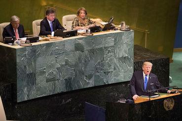 Президент США сформулировал доктрину «принципиального реализма», подчеркнул важность патриотизма и суверенитета