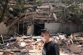 По данным Геологической службы США, магнитуда землетрясения составляла 7,1, передает CNN