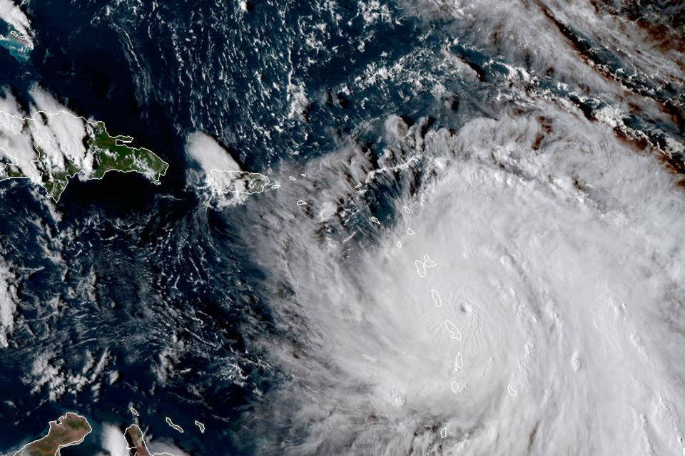 «Мария» – второй за месяц ураган категории 5 после «Ирмы», который проходит по восточной части Карибского моря