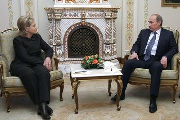 Хиллари Клинтон: наши отношения с Владимиром Путиным давно испортились
